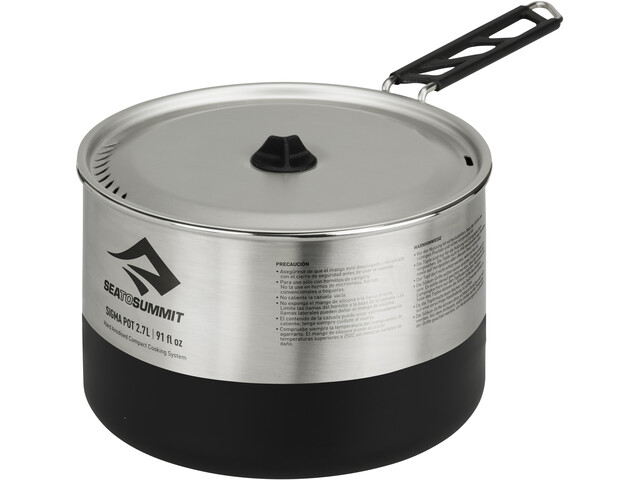 Sea to Summit Sigma Pot 2,7L silver